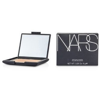 Contains diffused powders that add golden shimmer to face. Creates an al...