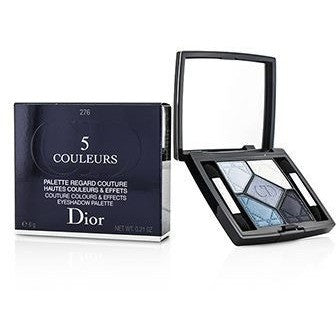 5 Couleurs Couture Colours and Effects Eyeshadow Palette - No. 276 Carre Bleu