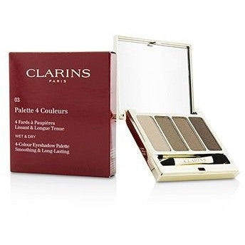 4 Colour Eyeshadow Palette (Smoothing and Long Lasting) - No. 03 Brown
