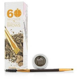 60 Seconds To Beautiful Brows Kit (1x Brow Powder, 1x Dual Ended Brow Brush) - Taupe