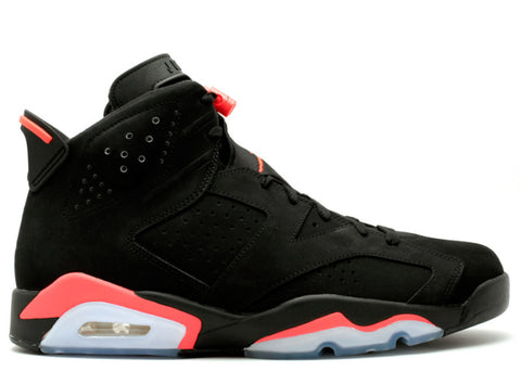 "Air Jordan VI ""Black/Infrared"" - KickCircle 384664 023  