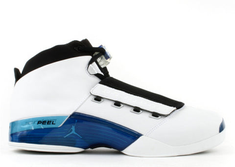 "Air Jordan XVII ""White/Blue"" - KickCircle"