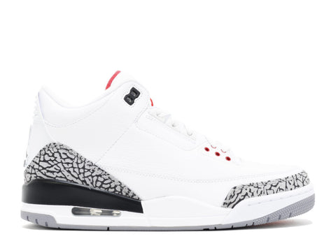 "Air Jordan III ""White/Cement"" - KickCircle"