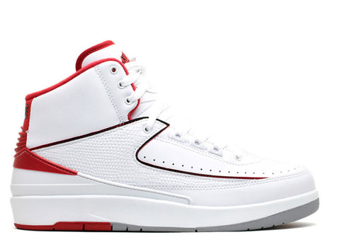 Air Jordan II White/red - KickCircle