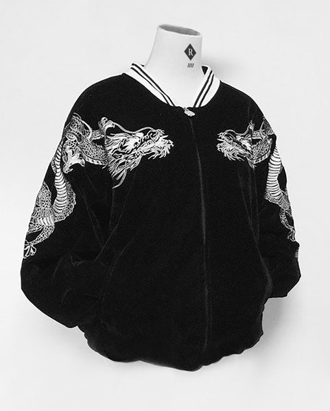 80's dragon bomber jacket