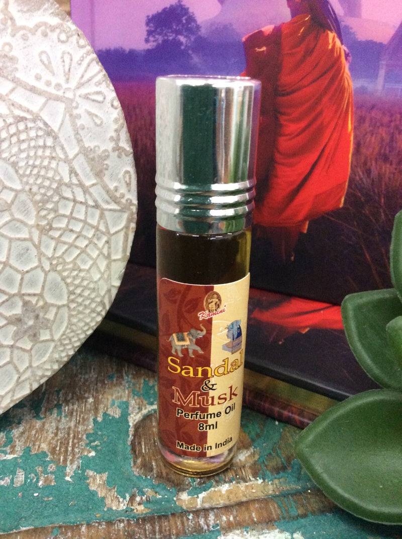 Sandal and Musk Perfume Oil