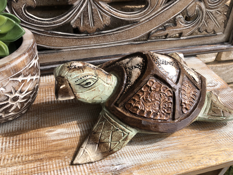 Carved Turtle - 3 Sizes Available