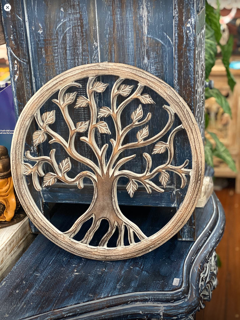 Tree of Life - brown wash - 40 cm
