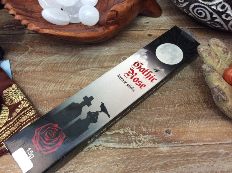 Kamini Gothic Rose Incense sticks 15g