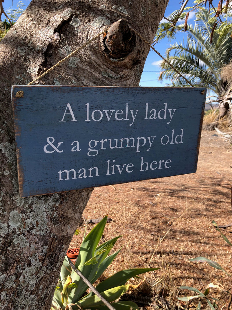 Timber Sign - Lovely Lady