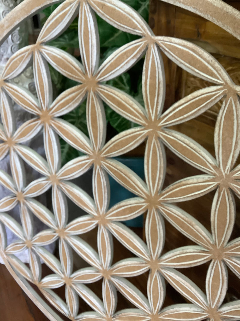 Flower of Life - wall hanging 60 cm