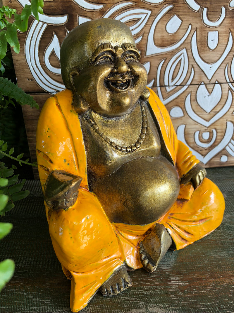 Happy Buddha Statue - 20 cm high