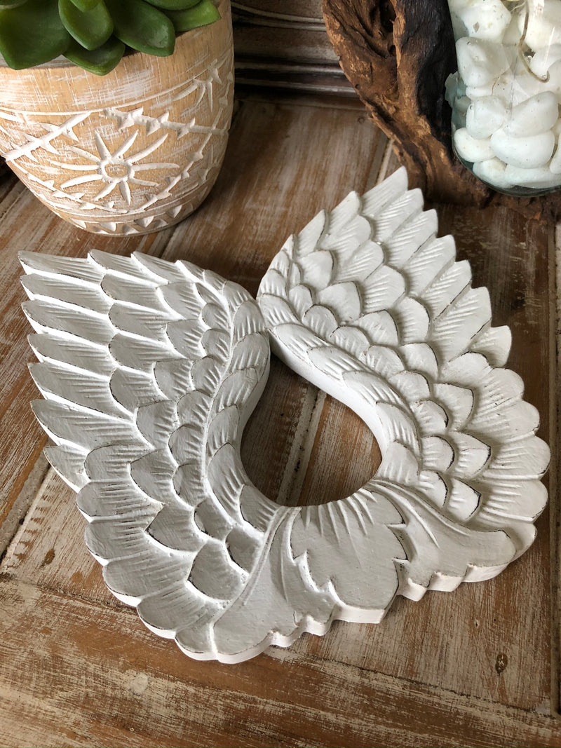 Angel Wings Wall Hanging - 20cm