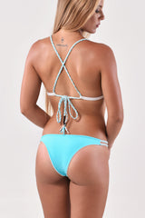 Fixed Triangle Top x Cheeky Bottom Bikini SET