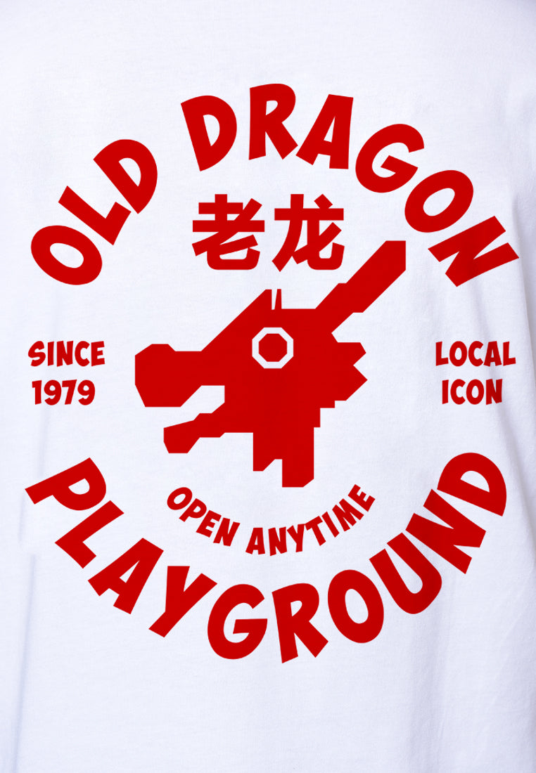 Old Dragon Graphic T-shirt
