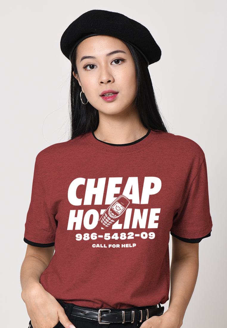 Cheap Hotline Graphic T-shirt