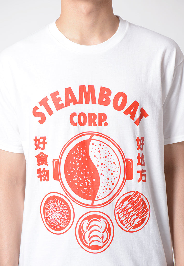 Steamboat Corp Graphic T-shirt
