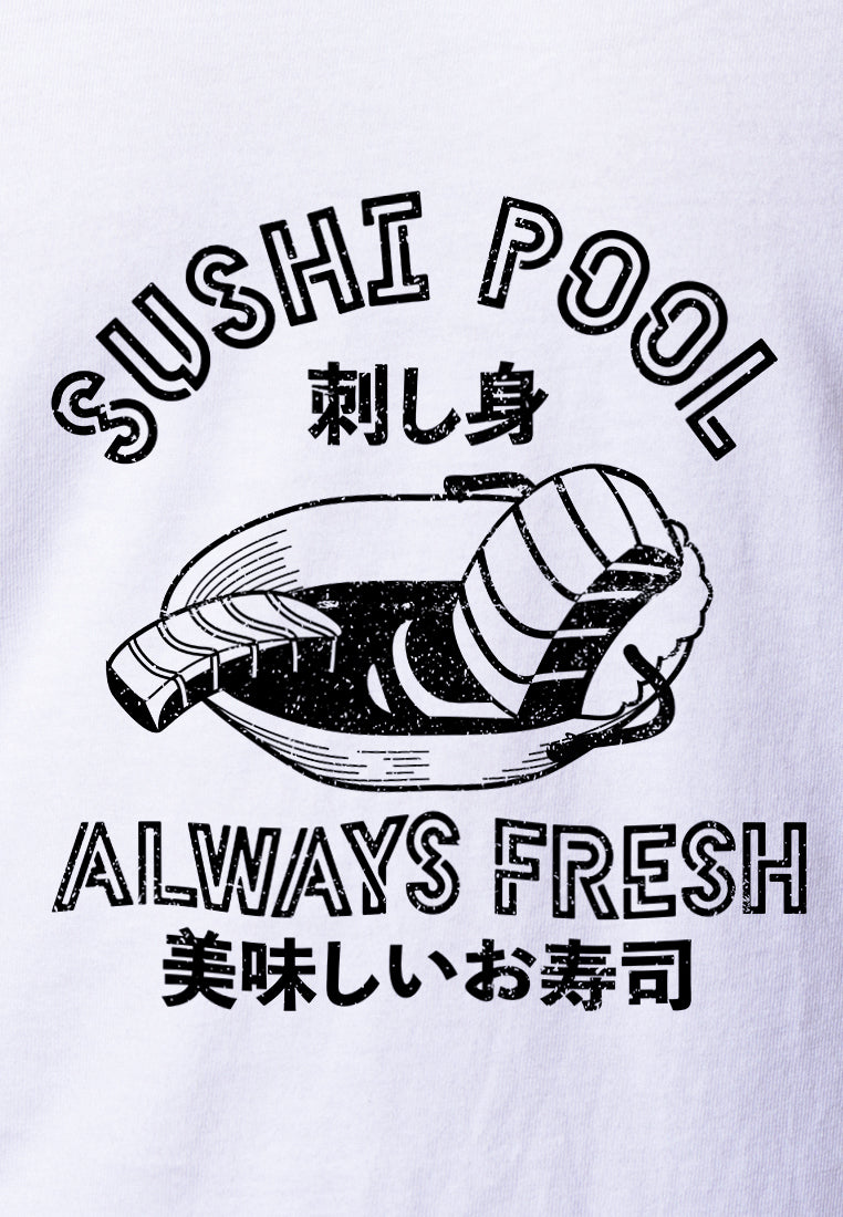 Sushi Pool Graphic T-shirt