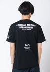Social Media Graphic T-shirt