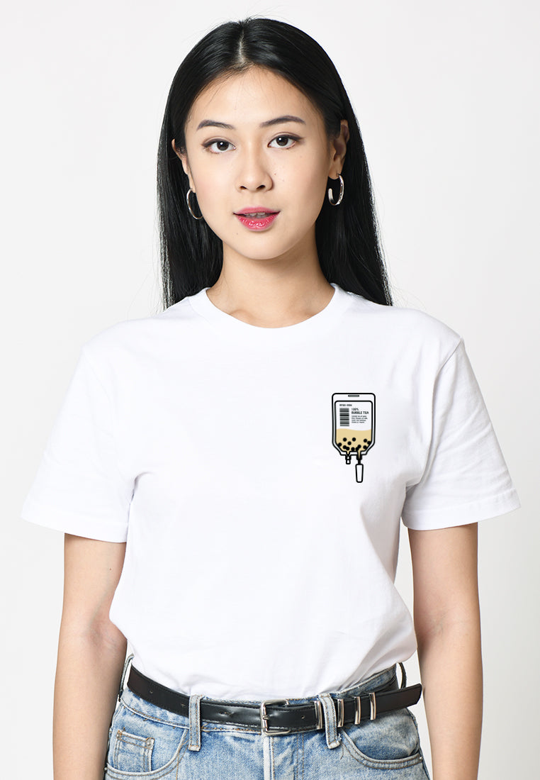 Bubble Tea Bag Graphic T-shirt
