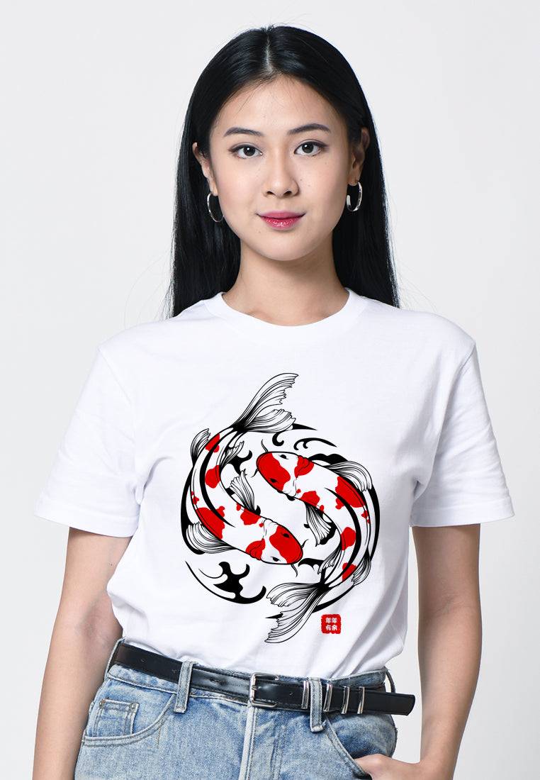 Koi Fish Graphic T-shirt