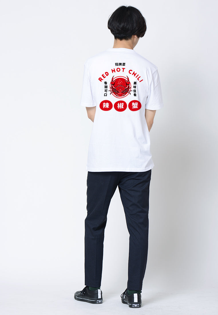Chili Crab Graphic T-shirt
