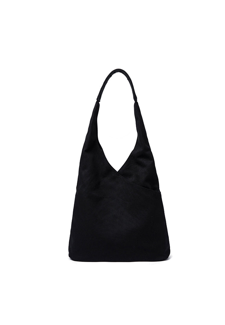 Single Canvas Shoulder Bag