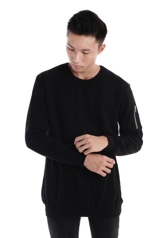 Long Sleeves Sweat Shirt