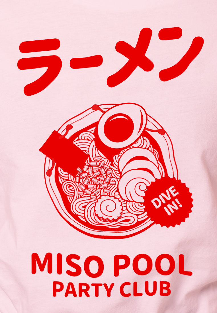 Miso Pool Ladies Graphic T-shirt