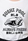 Sushi Pool Ladies Graphic T-shirt