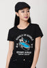 Bubble in Bubble Ladies Graphic T-shirt