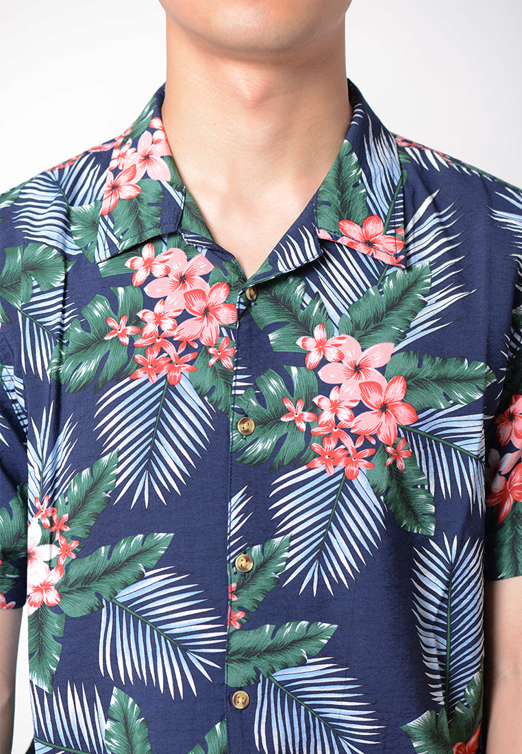 Floral Short Sleeves Shirt
