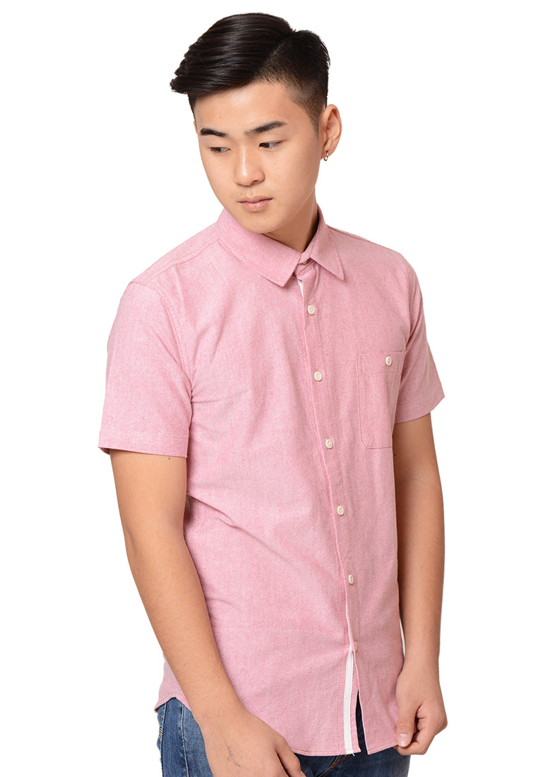 Short Sleeves Oxford Shirt