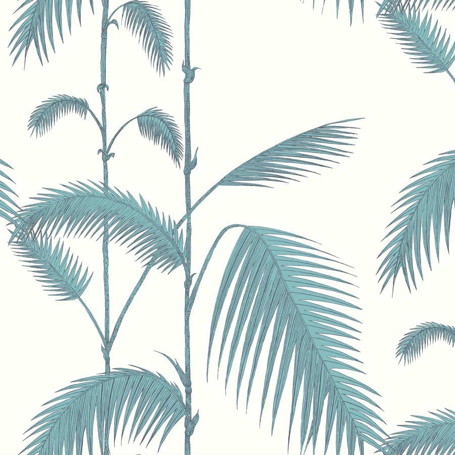 Palm Leave - palme tapet, creme / grøn - Cole & Son - New Contemporary tapetkollektion