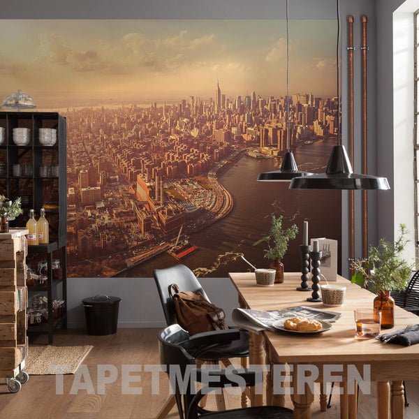 fototapet manhattan skyline
