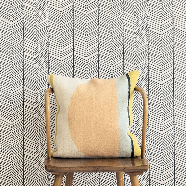 Ferm Living Tapet Herringbone