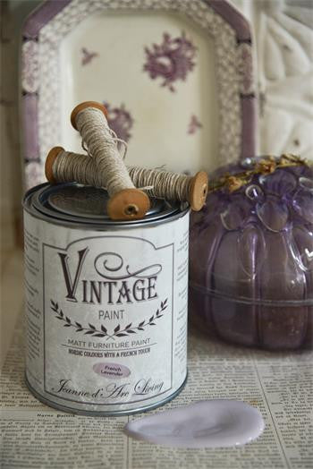 kalkmaling french lavender vintage paint