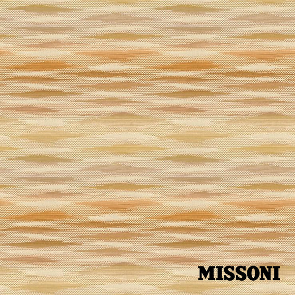 Missoni tapet. Fireworks. Yellow/Mustard.
