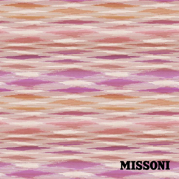 Missoni tapet. Fireworks. Orange/pinks.