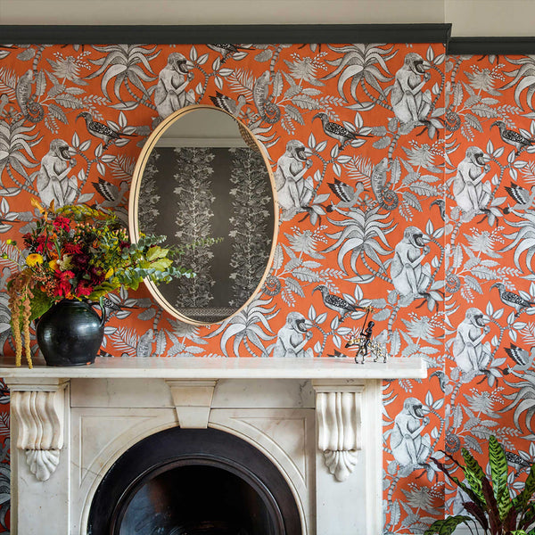 Savuti savanne tapet, burned orange. Cole & Son