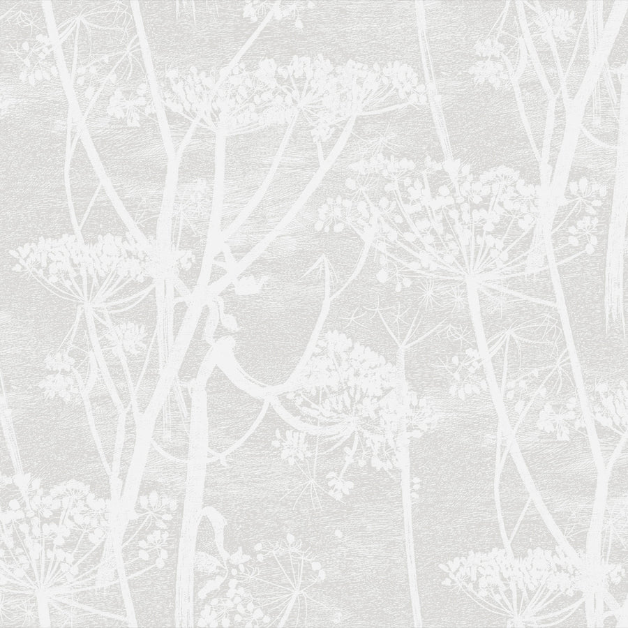 Cow Parsley Tapet, hvid/lys kit. Cole & Son