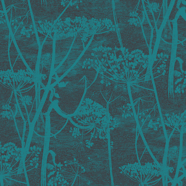 Cow Parsley Tapet, ink/icongreen. Cole & Son