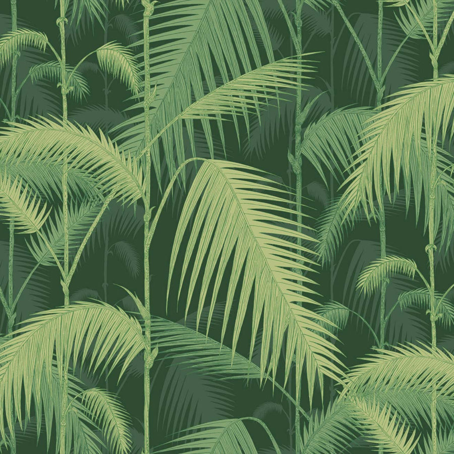 Palm Jungle Tapet. Olivegreens - Cole & Son Icons