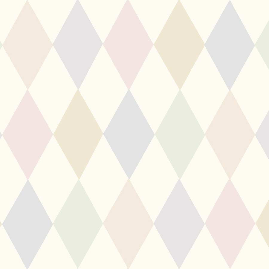 Punchinello Harlekin Tapet - pastel. Cole & Son