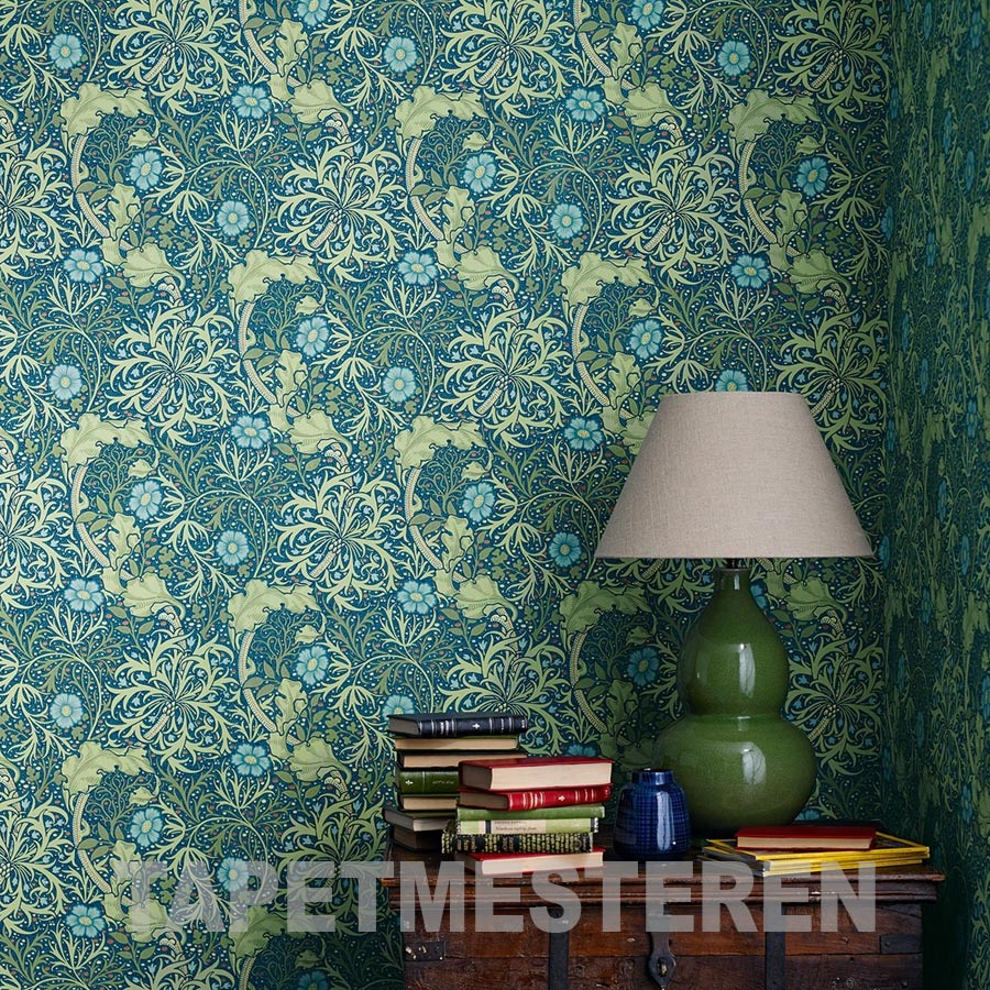 William Morris Seaweed tapet
