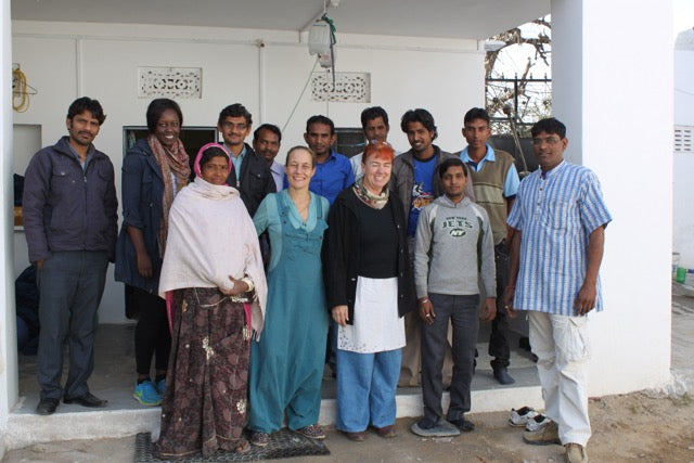 The ANJELMS Project & The Stitching Project team