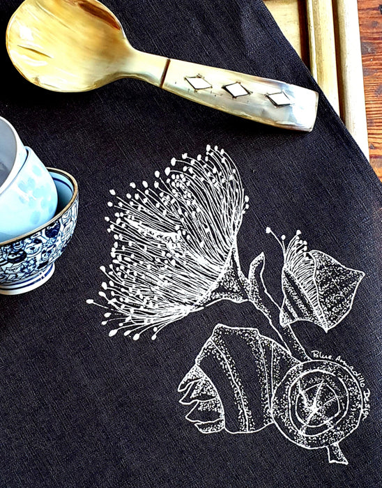 Tea Towel - Eucalyptus flower