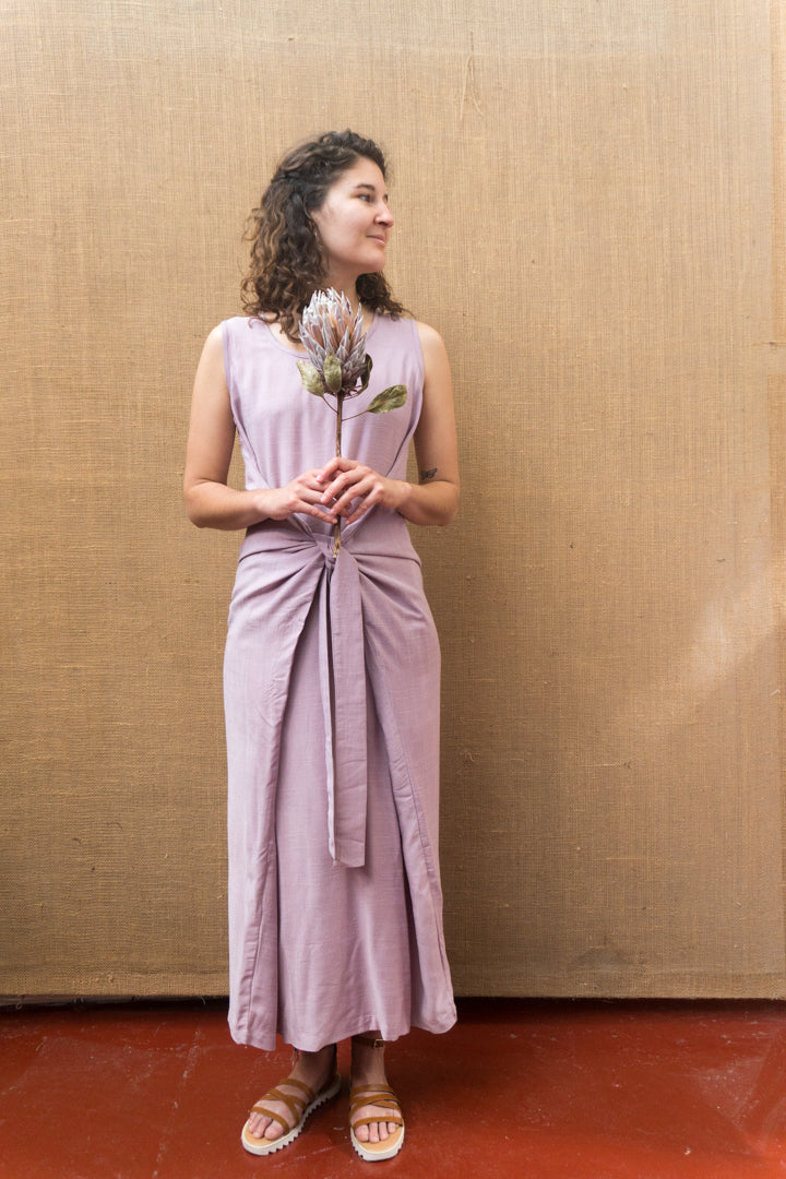 Wrap Dress - Light Lac-Women-The ANJELMS Project
