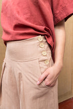 Load image into Gallery viewer, Pleat Wide Leg Pants - Himalayan Rhubarb-Women-The ANJELMS Project
