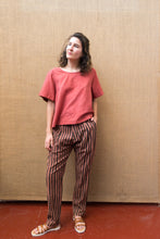 Load image into Gallery viewer, Tailored Pants - Catchu Stripes-Women-The ANJELMS Project